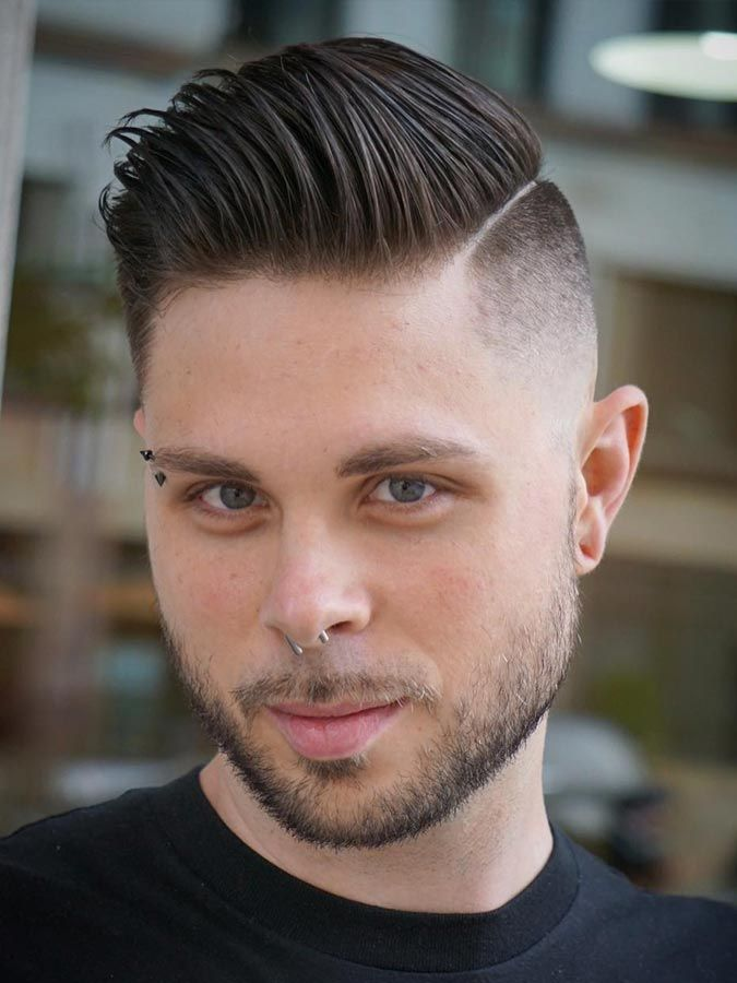 drop fade haircut stylish