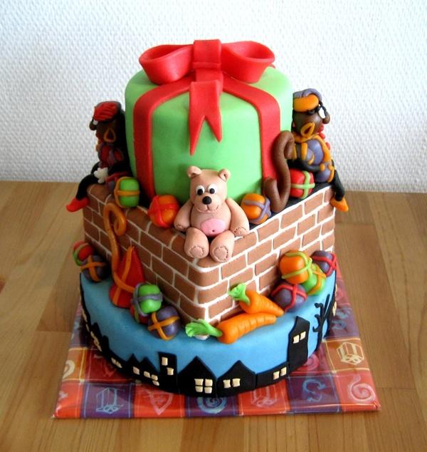 Sint-Knutsel idee: Sinterklaas taart