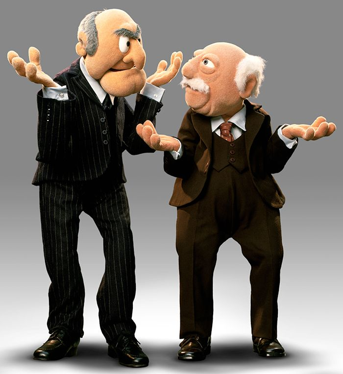 muppets waldorf and statler - Buscar con Google