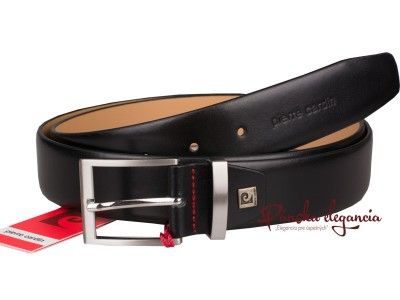 Luxusný kožený oblekový opasok Pierre Cardin #pierrecardin #belt #leather #designer #fashion #style