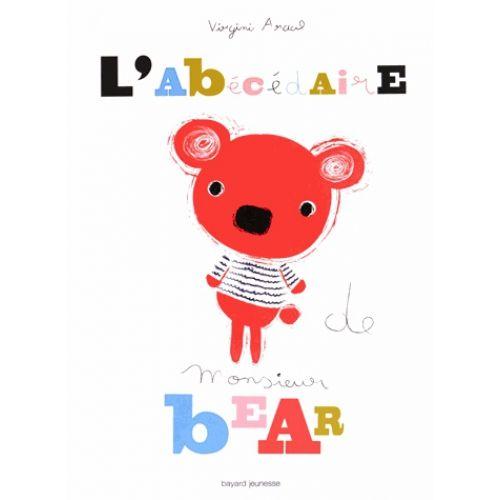 L'abécédaire de Mr Bear - Livre Livre Tissu et Livre de Bain