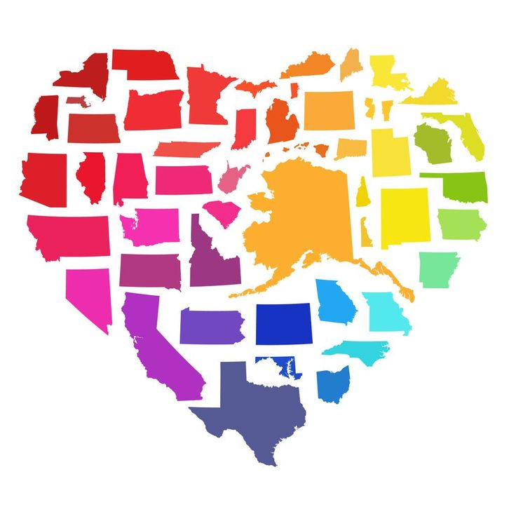 Image result for love wins states