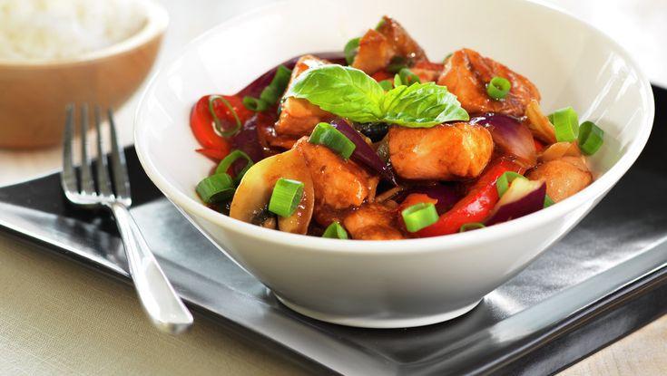 Laks i wok