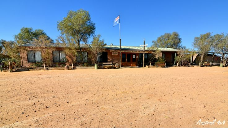 Mungerannie Hotel along the Birdsville Track, South Australia.