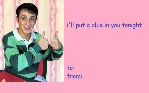 Blues Clues Valentines Day Cards Valentines