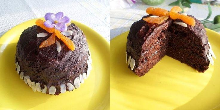 Csupa csoki paleo süti (mikrós recept) ~ Éhezésmentes Karcsúság Szafival