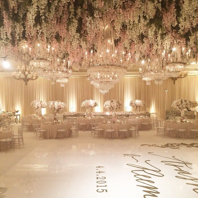 53 best indian wedding decorations images on pinterest decorations over the top wedding reception decor by the amazing white lilac inc we absolutely love the blush tones and the floral ceiling junglespirit Gallery