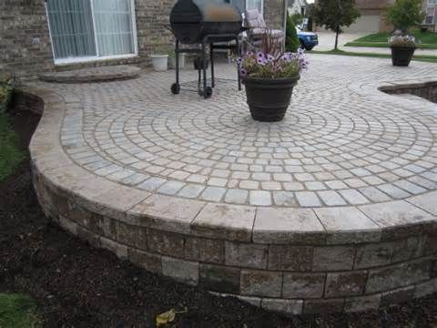 Raised Paver Patio Repaired After Collapse Decks Patios