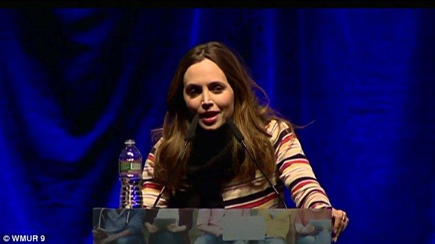 'I am an alcoholic and addict': Eliza Dushku has revealed the depths of her addiction problems for the first time as she opened about about her issues to warn a group of young people at the Youth Summit on Opioid Awareness in New Hampshire on Tuesday