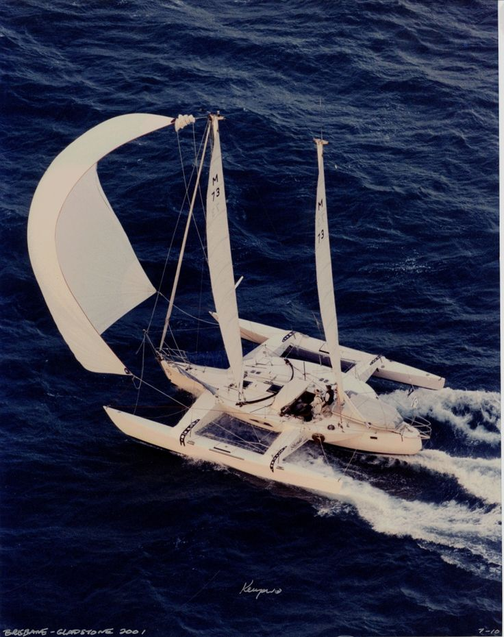 Shanda - One of only three yachts to win the Brisbane to Gladstone Race on OMR a record three times (Others were: Nudgie Budgie and Escapade)