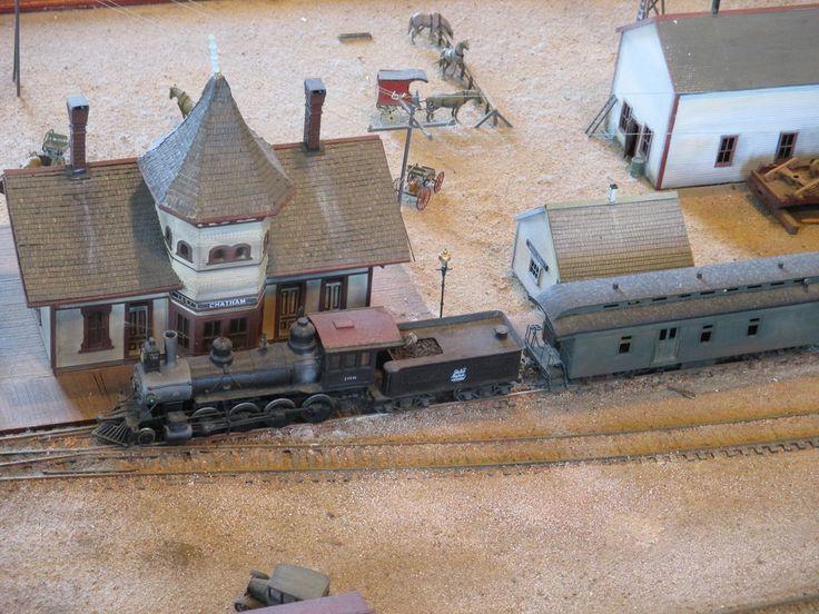 Museu da Ferrovia em Chatham, Massachussetts, USA. Modelo dos armazéns da ferrovia.  Fotografia: Joe Katrencik no Flickr.