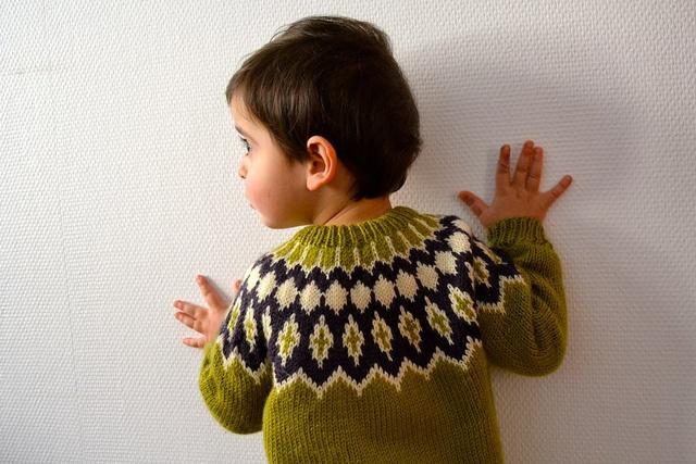 Ravelry: sivert's Icelandic Yoke Sweater