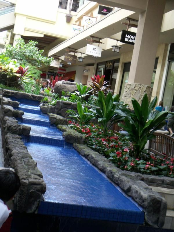 Ala Moana Mall in Hawaii - from memory, it has the best 'Longs Drugs Store' that I ever visited....indoors meets outdoors at this place, FANTASTIC