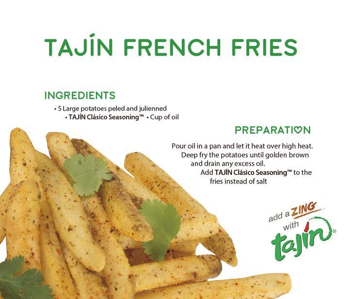 Enjoy our recipe for Tajín French Fries :)  www.tajin.com