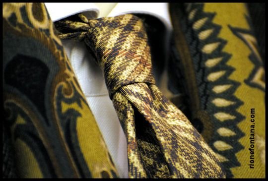 Etro. Scarf and tie.