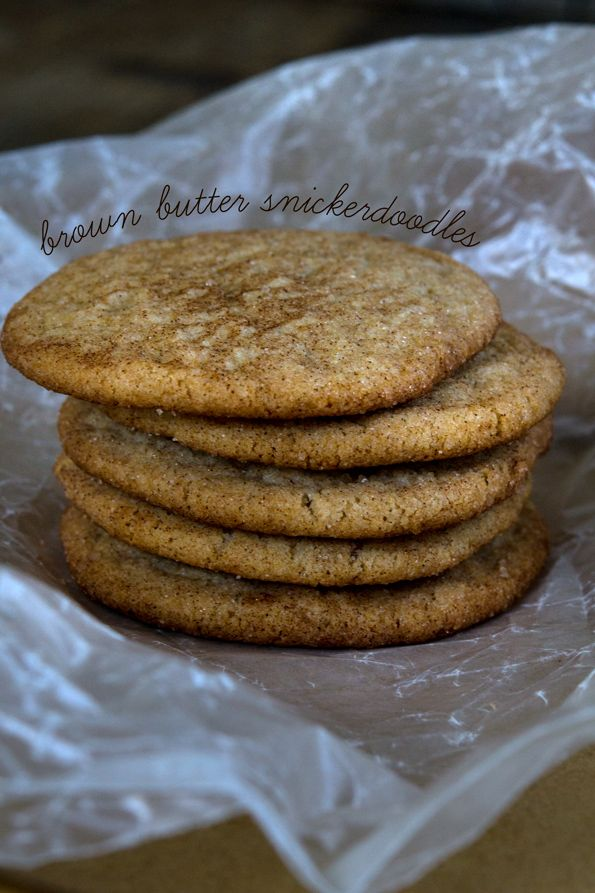 Brown Butter Gluten Free Snickerdoodles | Gluten Free on a Shoestring