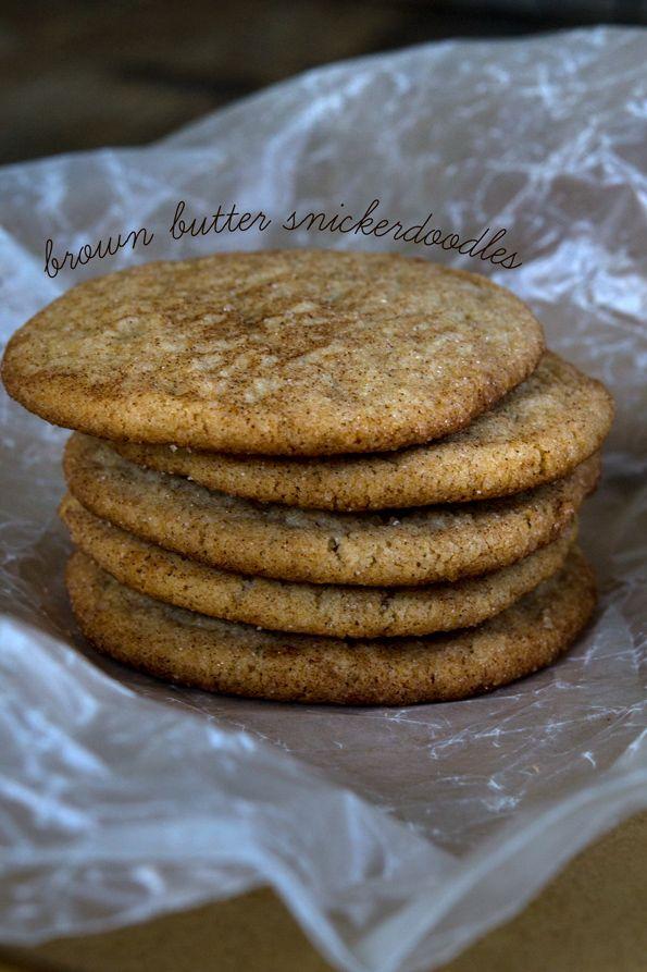 Brown Butter Gluten Free Snickerdoodles: Snickerdoodles Recipe ...