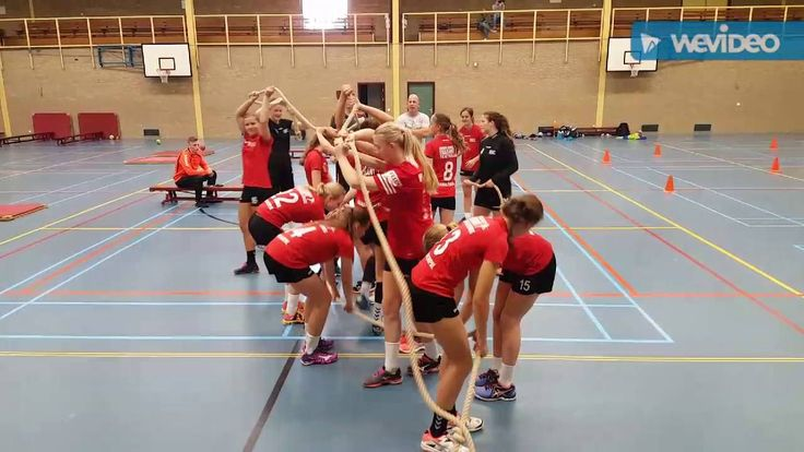 Handbalschool Brabant B meiden - trainingsdag 25 juni 2016 - fysiek en t...