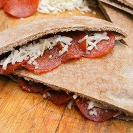 Pita Pizza Pockets | Favorite Recipes | Pinterest | Pita Pizzas, Pizza ...