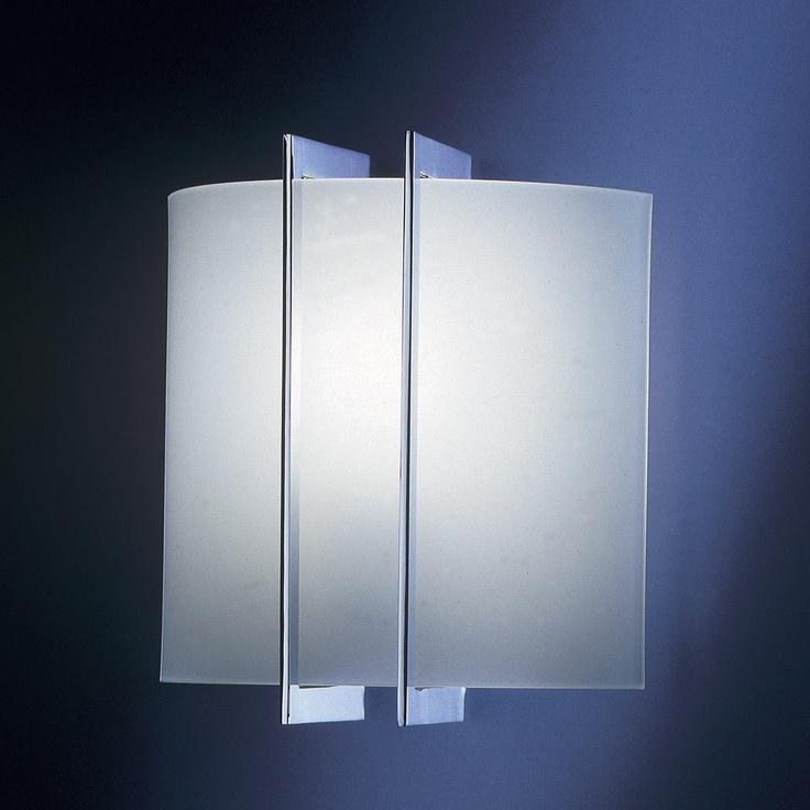 Elegant Wall Sconce Nickel  by Estiluz