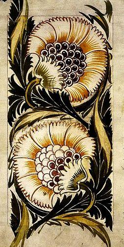 Willem de Morgan Tile Design 1871