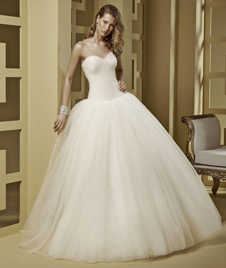 Wedding Dress Romance Roque ROAB15818IV 2015