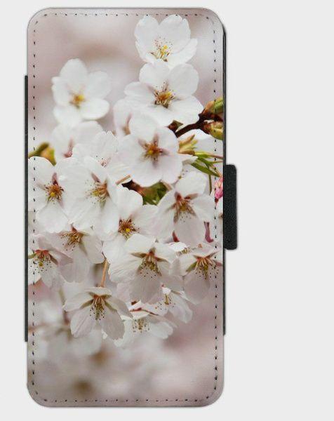 """Flip-Case """" Cherry Blooms """" von Zierrat auf DaWanda.com"""