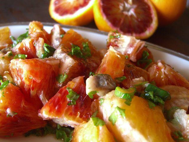 Tasting Sicily: SICILIAN ORANGE SALAD RECIPE