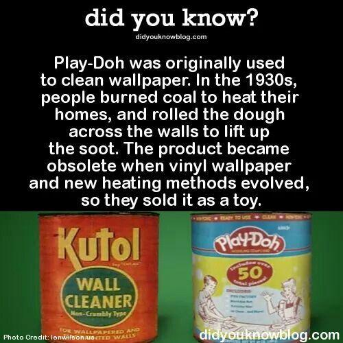 Play Doh Origin Play Doh Origin Friday Fact 3 Peeking Beneath How