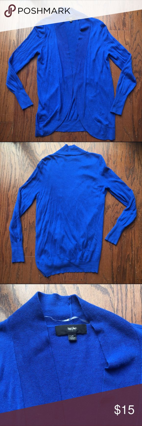 Mossimo Cardigan - Royal Blue Super comfy royal blue Mossimo Cardigan. Rarely worn- in great condition. Very flattering color! Goes well with jeans or leggings and boots! Feel free to make an offer!  Mossimo Supply Co. Sweaters Cardigans