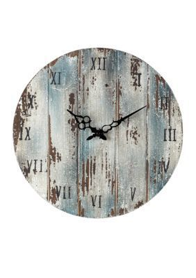 Sterling  Roman Numeral Outdoor Wall Clock