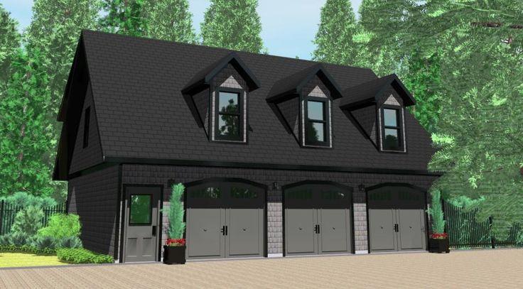 22 best prefab housing images on pinterest home design for Modular carriage house garage