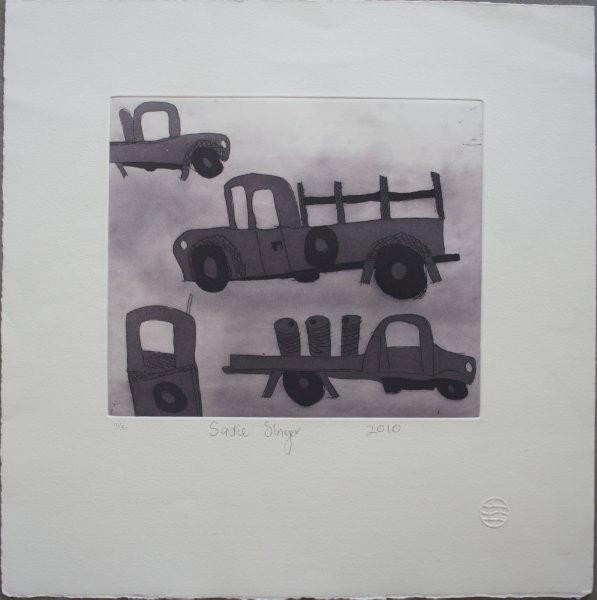 Limited edition print 21cm x 24cm