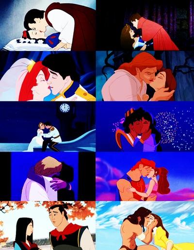 Snow White, Aurora, Ariel, Belle, Cinderella, Jasmine and Alladin, Esmerelda and…