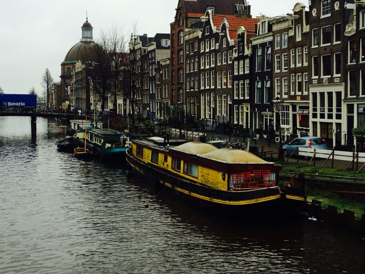 Boathouse in Amsterdam