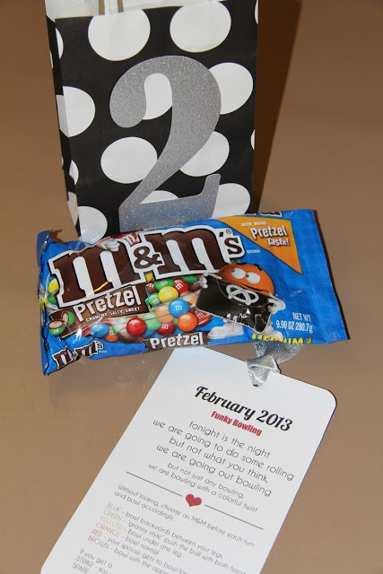 Cute Idea for a year of date night presents