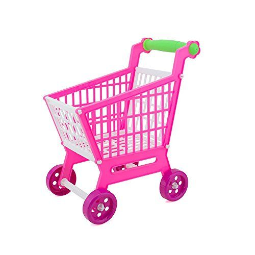 Toy Shopping Carts - Kasstino Handcart Shopping Cart Supermarket Utility Mode Storage Gift Baby Kid Toy Holder ** Visit the image link more details.