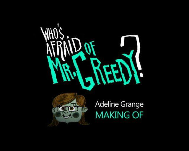 "Adeline Grange - Making-of ""Who's afraid of Mr. Greedy ?"""