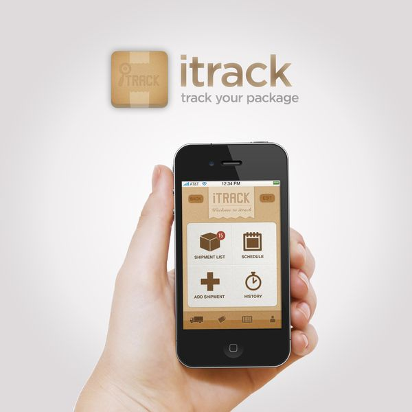 Itrack Iphone App by Annie JQ Liu, via Behance