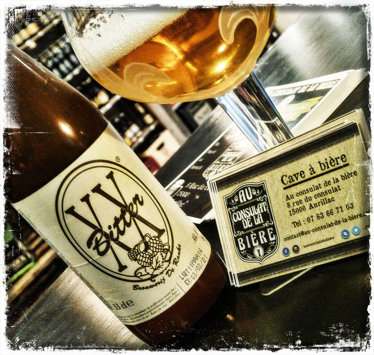 XX Bitter, Ipa, Bière belge, de ranke, Au Consulat de la Bière , Aurillac.