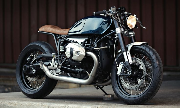 This Customized BMW R nineT Will Knock You Out With Its Handsomeness. Elegant and cool.