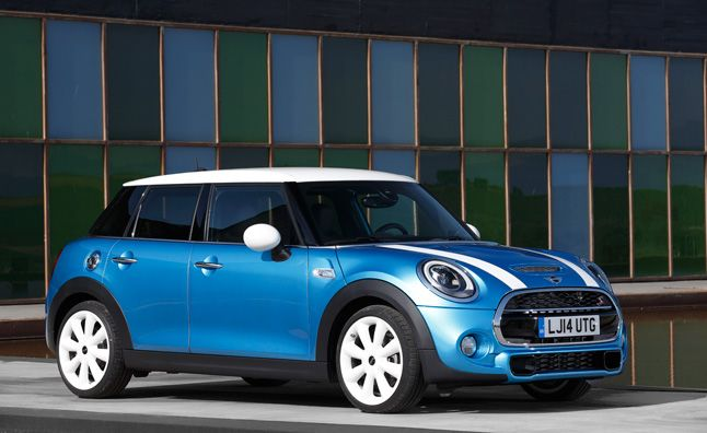 2015 MINI 4 Door Unveiled. For more, click http://www.autoguide.com/auto-news/2014/06/2015-mini-cooper-4-door-unveiled.html