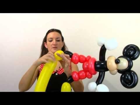 Mickey Mouse Balloon Animal Tutorial Online