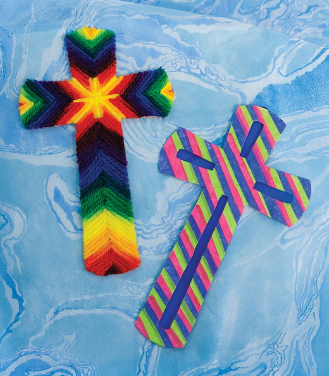 Vacation Bible School Crafts For Kids Part - 43: Concordia VBS 2014 Gangway To Galilee My Savior Cross Craft (pkg 12)