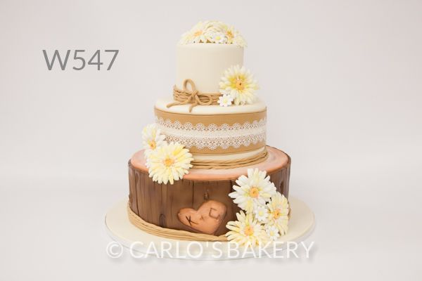 Carlo's Bakery - Floral Wedding Cake Designs I love this cake. I would want to change out the flowers though.