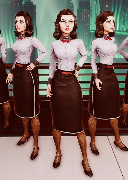 BioShock Infinite Burial at Sea DLC stars Elizabeth, dressed to impress