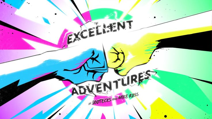 The Excellent Adventures of Gootecks & Mike Ross: Title Sequence