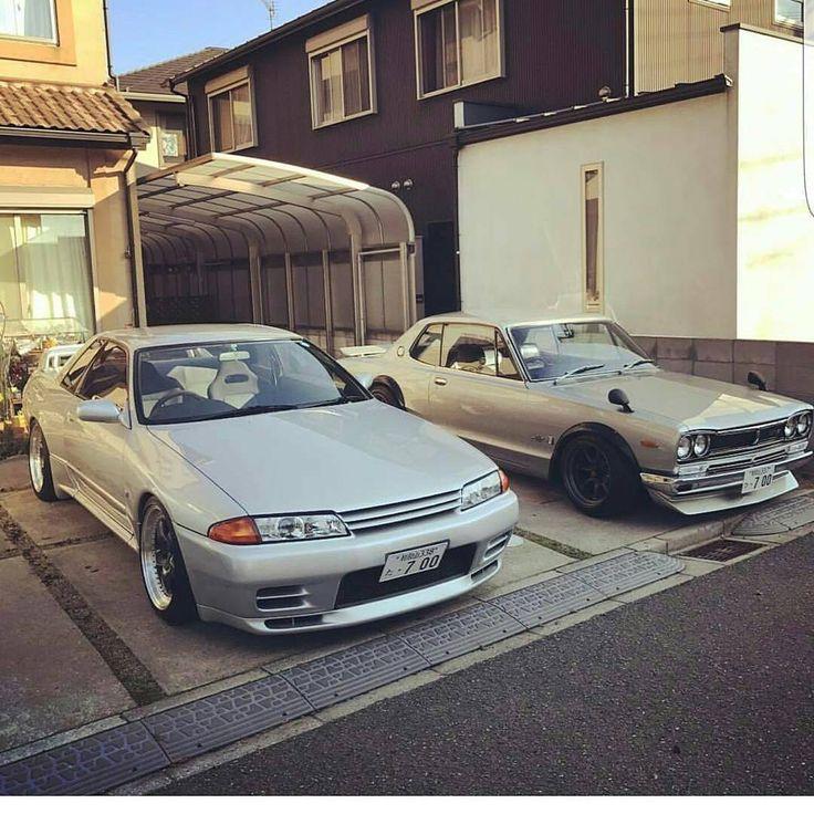 Nissan Skyline R32 GTR U0026 Hakosuka In Japan.. #jdm #rhd #import