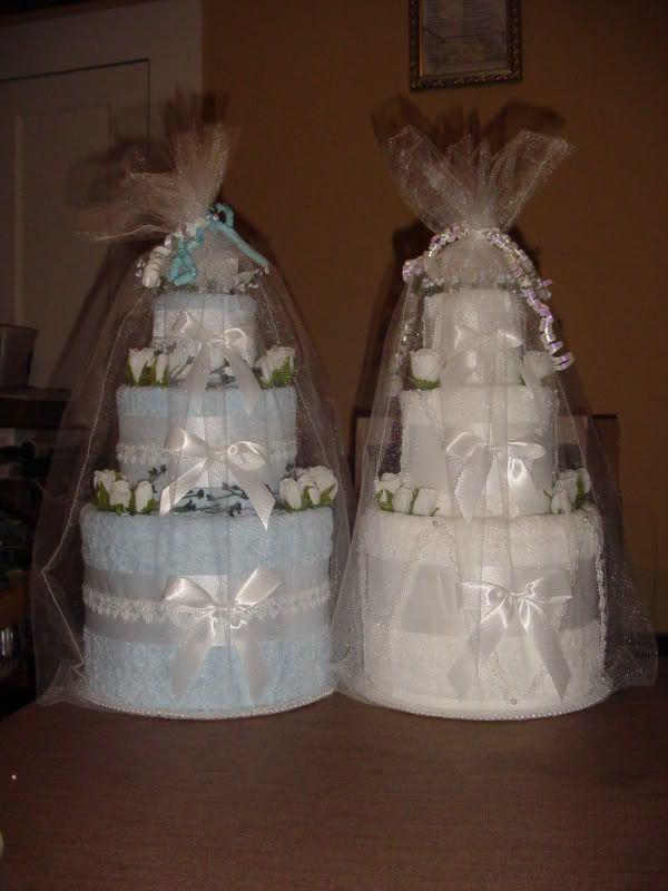 Bridal Towel Cake