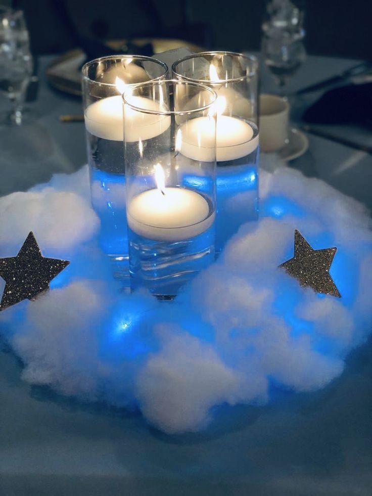 Twinkle Twinkle Little Star Centerpiece Boy Baby Shower Themes Twinkle Twinkle Baby Shower Moon Baby Shower